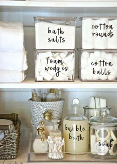 14 Fantastic Small Bathroom Organizing Ideas- A Cultivated Nest