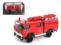 Fire Engine Diecast Model Cars 1/18 1/24 1/12 1/43