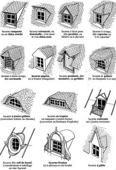Roof window roof window roofRoof window roof window Warm Tips: Roofing Architecture Detail metal slate roofing.Roofing Humor Meme Warm Tips: Roofing Architecture Detail metal slate roofing. Dormer Roof, Dormer Windows, Shed Dormer, French Style Homes, Attic Rooms, Roof Design, Architecture Details, Types Of Architecture, Federal Architecture