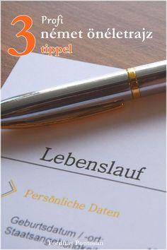 Így írjon Ön is profi német önéletrajzot!