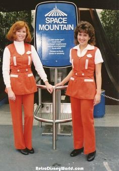 Space Mountain Cast Members