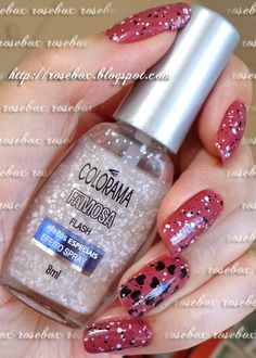 esmalte glitter Colorama flash