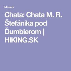 Chata: Chata M. R. Štefánika pod Ďumbierom | HIKING.SK