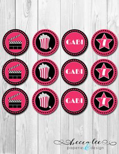 Movie Themed Birthday Party - Driven by Decor Movie Theater Party, Movie Party, 7th Birthday, Birthday Party Themes, Driven By Decor, Idee Diy, Wedding Events, Weddings, Party Bags