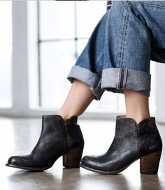 Black Lux Yell Bootie by Bed Stu