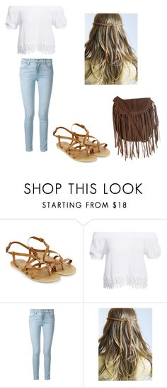 """Boho Inspired"" by fleming-a ❤ liked on Polyvore featuring Monsoon, Boohoo, Frame Denim and Glamorous"