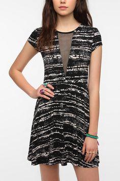Kimchi Blue Printed Mesh Circle Dress  #UrbanOutfitters