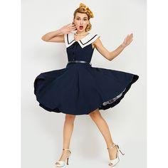 #Buy online #Corset Dresses #Cheap and Best #DEEP #BLUE NAVY #CREW #SWING DRESS 0118  #Order Now:- http://www.corsetdresskart.com/Dresses/Deep-Blue-Navy-Crew-Swing-Dress-0118