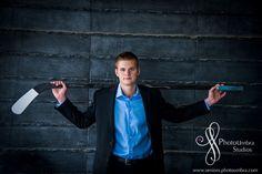 Senior Portrait / Photo / Picture Idea - Hockey