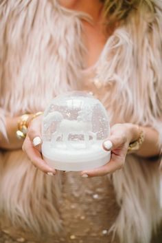 Treasures to Hold ~ Christmas Snowglobe