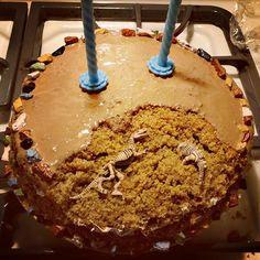 Un Jurassic cake, le gâteau rêvé pour les archéologues en herbe et les fans d'Indiana Jones