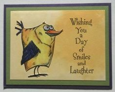 Not another Crazy Bird! by muscrat - Cards and Paper Crafts at Splitcoaststampers