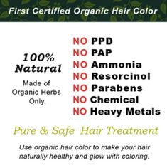 Organic Hair Color dye for Natural and safe hair coloring. It is completely natural product. Color Your Hair, Hair Dye Colors, Natural Hair Care, Natural Hair Styles, Organic Hair Dye, Hair Color Brands, Organic Herbs, Hair Coloring, Organic Beauty