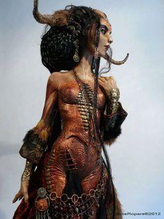 Art doll artist Virginie Ropars