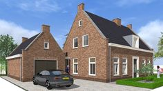 Landelijke woning, designed by bongers architecten