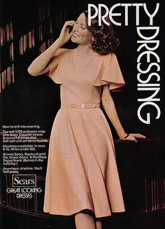 1975 Sears Catalog Dresses