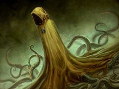hastur (call of cthulhu and lovecraft mythos) drawn by capprotti - Omnibooru ter Hp Lovecraft, Lovecraft Cthulhu, Dark Fantasy, Fantasy Art, Yellow Sign, Lovecraftian Horror, Eldritch Horror, Call Of Cthulhu, Fantasy Monster