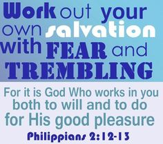 Image result for picture Philippians 2:12 Bible