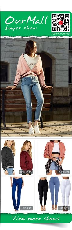 This is Luis Rodriguez's buyer show in OurMall; totally wearing four items below: 1.women coat  PLUS SIZE Cotton Blend Women Jacket Coat Autumn Winter Street Jacket 2.Autumn Jacket Women Slim Biker Motorcycle Windbreaker Zipper Bomber Jacket Chaquetas 3.Rose Red Female Stretch Can...If you'd like to buy above, please click the picture for detail. http://ourmall.com/?ANRVNj