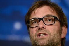 Dortmund's head coach Juergen Klopp gives a press conference at the Santiago Bernabeu stadium in Madrid on April 29, 2013, on the eve of the UEFA Champions League football match Real Madrid CF vs Borussia Dortmund