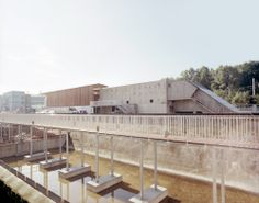 Nominated for the European Union Prize for Contemporary Architecture – Mies van der Rohe Award AWP Public, Water Treatment, Urban, Contemporary Architecture, Stairs, House Styles, Gallery, Outdoor Decor, Plants