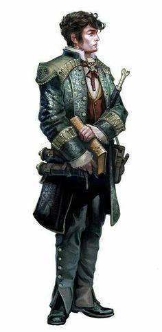 Hunan Investigator - Pathfinder PFRPG DND D&D d20 fantasy