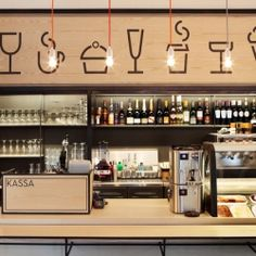 BOND's fresh and modern concept for Aschan Deli is perfect for an urban quick stop for breakfast, lunch, snack or coffee.