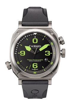 Swiss-made but conceived in Britain, Christopher Ward's remit is to bring you the highest-quality timepieces at the best possible price. This new limited-edition offering is water-resistant up to 1000m, so you will run out of puff long before it does. RJ £1,150. christopherward.co.uk