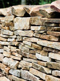 Dry Stone Wall Evokes Countryside Walks