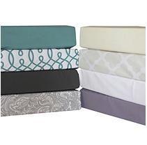 Extra Soft Luxury 6Pc Queen Sheet Set - Lattice