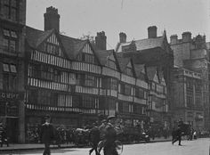 Staple Inn, Holborn. It is a rare surviving Tudor building in the heart of London
