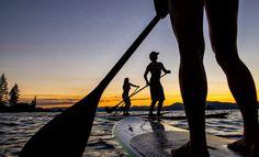 Stand Up Paddle Board, Lake Tahoe.