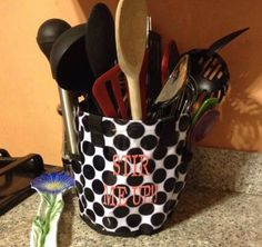 Thirty-One Round About Caddy ... Use it to hold kitchen utensil! :)
