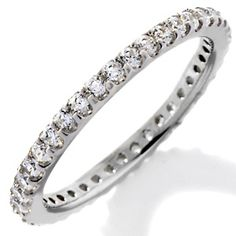 Jean Dousset Absolute™ Classics Round Eternity Ring at HSN.com.