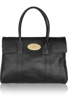 Mulberry|The Bayswater textured-leather bag|NET-A-PORTER.COM
