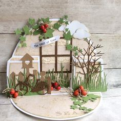 Made by Jolanda: The best of times Pop Up Cards, Cool Cards, Aliexpress Dies Cards, Rena, Bday Cards, Window Cards, Easel Cards, Marianne Design, Diy Frame