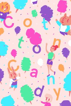 Cotton Candy by Edau