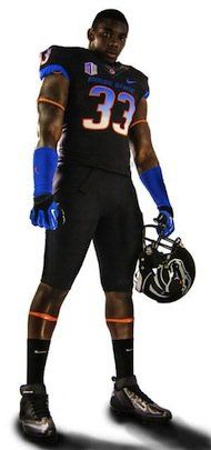 Boise State wins the award for best black helmet (PHOTOS) | Dr. Saturday - Yahoo! Sports