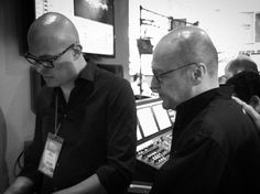 Omar Martínez Especialista de Apliacciones #Avid #ProAudio y Martín Hernández Supervisor de Audio para Cine #ElRenacido #Birdman en el #Booth de #AvidLatAm #expocinevideotelevisionciudadpantalla #Mexico