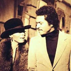 Diana Ross and Billy Dee Williams♥