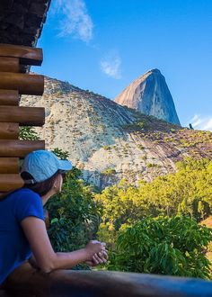 No, it's not a filter.   Yes, the peak is really blueish. Hence the name: Pedra Azul (azul = blue in Portuguese)  Pedra Azul is a charming community in the mountains of the Brazilian state of Espírito Santo.