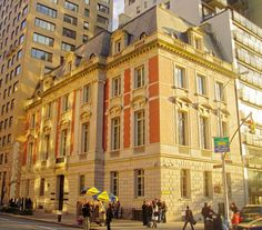 William Starr Miller mansion 1914 by Carrère & Hastings, 1048 Fifth Avenue, at 86th Street. It was later occupied by society doyenne Mrs. Cornelius Vanderbilt III and subsequently by the YIVO Institute for Jewish Research. Currently the Neue Galerie New York