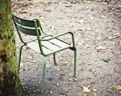 Paris Photo  Luxembourg Gardens Chair Paris by TheFrenchKiosk, $16.00