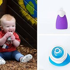 The Original Squeeze Food Pouch is BACK on BabySteals now at up to 50% off!  Give your kiddos delicious healthy purées in a reusable squeeze! Easy for little hands to manage and in a squeezable silicone pouch design that makes it easy for tots to feed themselves. From freshly made purees to ready to eat foods like yogurt or applesauce the Sili Squeeze is a fun way to feed your growing baby nutritious food. Pick up a set today!  #babyfood