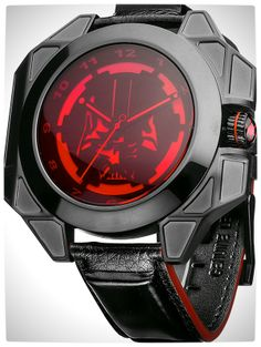 Vamers - SUATMM - Star Wars Collector's Watches - It Is Time to Use the Force - Darth Vader Time Piece