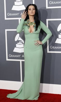 Katy Perry at the grammys 2013