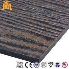 Imitation Wood Texture Light Weight Cladding Batten Fiber Cement ...