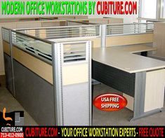 Contemporary Office Workstations