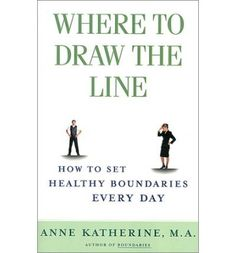 Book Review: Where to Draw the Line - blog post by Sharon Martin, LCSW