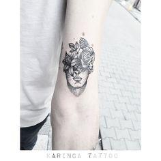 http://instagram.com/bahadircemtattoo #dotwork #tattoo #blacktattoo #tattoodesign #tattoos #dövme #tattooidea #flowertattoo #armtattoo #smalltattoo #minimaltattoo #minimalisttattoo #littletattoo #tatted #inked #ink #goodtattoo
